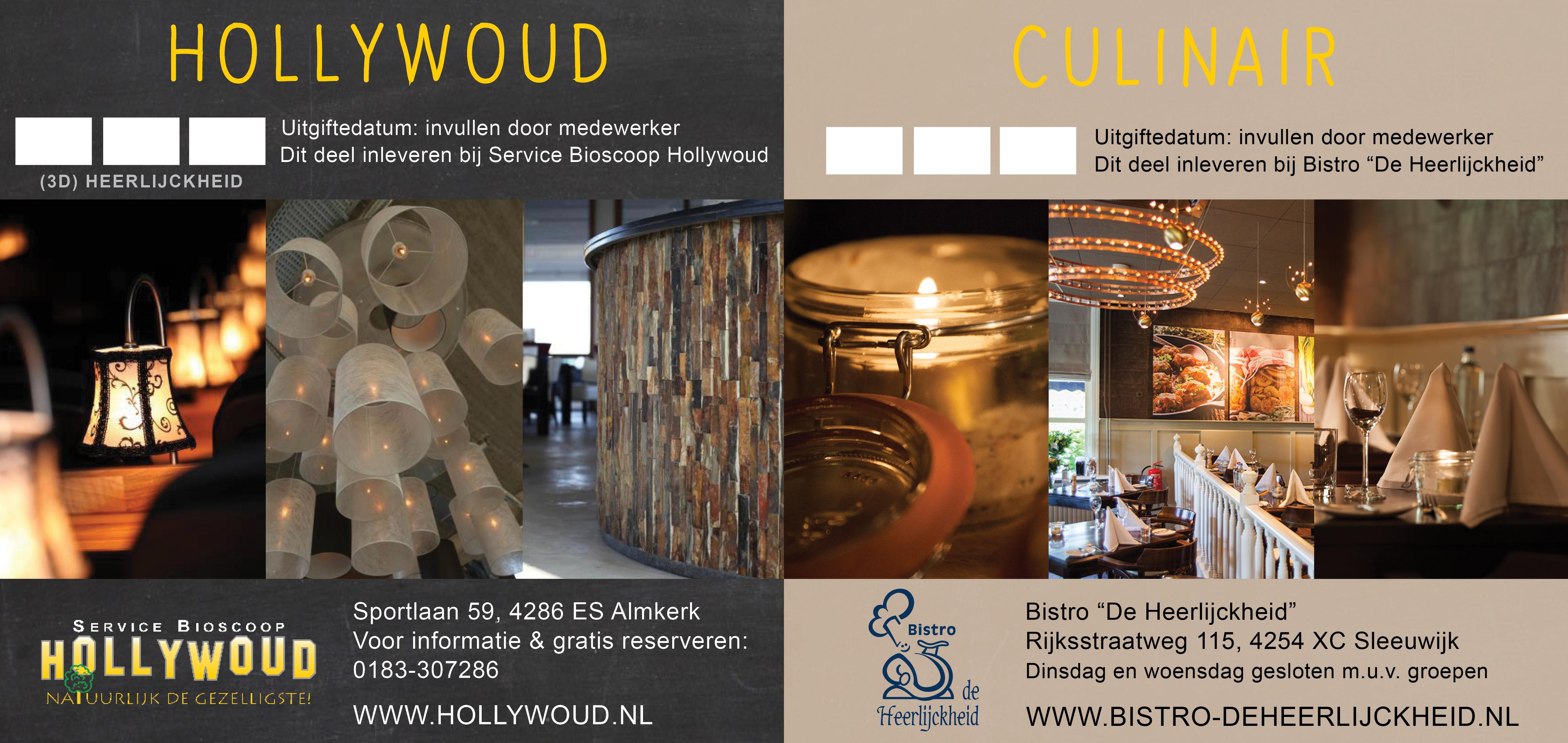 Hollywoud Culinair Bistro de Heerlijckheid 2